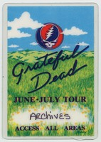 Grateful Dead - June-July Tour - Access All Areas [laminate]
