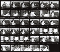 Bruce Hornsby: contact sheet with 35 images