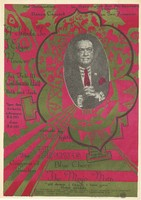 Jook Savages, Blue Cheer, The Mojo Men, The Congress of Wonders - A Tribute To J. Edgar Hoover: The Transaction in Assn. with Bob McKendrick presents Dance Concert in San Francisco - Visuals by Head Lights - California Hall - February 10 [1967]