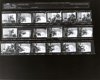 Grateful Dead at 710 Ashbury Street: contact sheet with 18 images