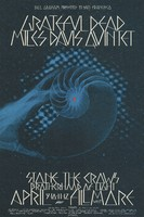 Grateful Dead, Miles Davis Quintet, Stone the Crows - Lights by Brotherhood of Light - Bill Graham Presents in San Francisco - Fillmore West - April 9-12, 1970