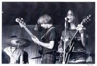 Grateful Dead: Phil Lesh and Bob Weir, with Bill Kreutzmann, obscured