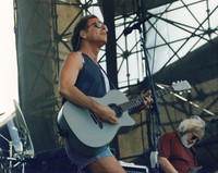 "Grateful Dead: Bob Weir and Jerry Garcia performing ""Black Thoated Wind"""