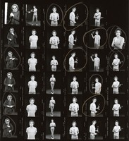 Bob Weir, Jerry Garcia: contact sheet with 35 images