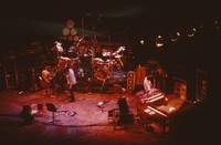 """Grateful Dead So Far"" production: Bob Weir, with unidentified crew members"