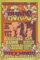 Byrds, Loading Zone, LDM Spiritual Band - Bill Graham Presents in San Francisco - The Opening of the Fall Weekend Series - September 7-9 [1967] - Fillmore