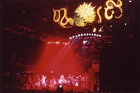 "Grateful Dead, ""Closing of Winterland"": distant view of the stage"