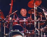 "Bill Kreutzmann performing ""Fire On The Mountain"""