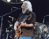 "Jerry Garcia performing ""Big Boss Man"""