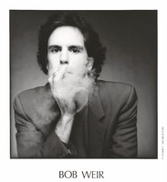 "Bob Weir: publicity photo for the album cover for Bobby and the Midnites, ""Where the Beat Meet the Streets"""