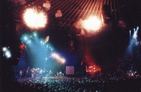 Grateful Dead, ca. 1992: distant view of the stage
