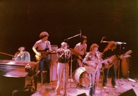 High Noon, ca. 1981: Merl Saunders, Chuck Rainey, Norton Buffalo, Mickey Hart, Mike Hinton, Jim McPherson