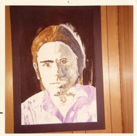 Bob Weir: portrait painting