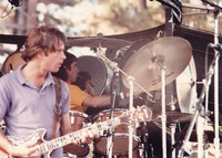 Bob Weir, with Mickey Hart in the background