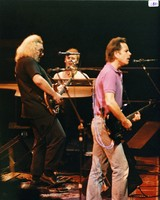 Grateful Dead: Jerry Garcia, Bruce Hornsby, and Bob Weir