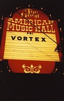 Vortex at the Great American Music Hall: view of the marquee