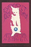 Spirit, Poco, Gypsy - Lights by Little Princess 109 - Bill Graham Presents in San Francisco - Fillmore West - May 14-17, 1970