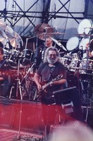 Jerry Garcia, with Bill Kreutzmann, obscured