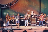 Other Ones, ca. 1998: Dave Ellis, John Molo, Bob Weir, Phil Lesh, Mickey Hart, Mark Karan
