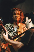 Other Ones: Alphonso Johnson, with Steve Kimock in the foreground