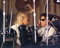 Bill Kreutzmann and Mickey Hart