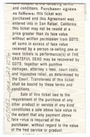 Don Law Productions and John Scher present Grateful Dead - The Centrum - April 2, 1987