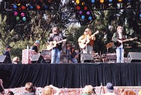 Bill Graham Memorial (Laughter, Love And Music): Neil Young, David Crosby and Graham Nash, with Phil and Jill Lesh in the background