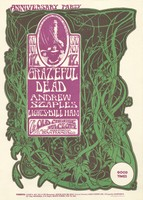 Grateful Dead, Andrew Staples - Anniversary Party - November 12 [1966] - The Old Cheese Factory