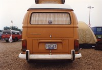 "Deadhead van with ""10SEJED"" Tennessee license plate, ca. 1989"