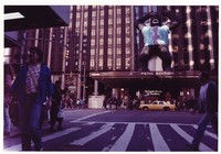 Grateful Dead at Madison Square Garden: entrance with inflatable King Kong in tie-dye
