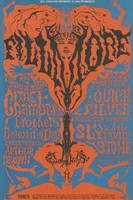 Chambers Brothers, It's A Beautiful Day, The Crazy World of Arthur Brown, Quicksilver Messenger Service, Sly and the Family Stone - Lights by Holy See - Bill Graham Presents in San Francisco - June 18-23 [1968] - Summer Series