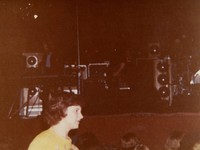 Grateful Dead, ca. 1977: Keith Godchaux, Jerry Garcia (?)