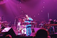 Ornette Coleman and his band, opening for the Grateful Dead
