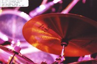 "Grateful Dead: Zildjian ""China Boy"" cymbal in Bill Kreutzmann's or Mickey Hart's drum kit"