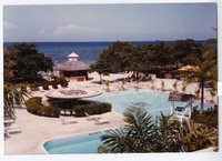 Jamaica World Music Festival: scouting photo of Rose Hall Beach and Country Club