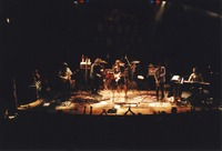RatDog: Mark Karan, Rob Wasserman, Jay Lane (obscured), Bob Weir, Kenny Brooks, Jeff Chimenti