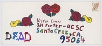 Victor Lewis [return envelope]