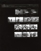 "Grateful Dead: ""Throwing Stones"" video shoot: contact sheet VIII of 13 images"