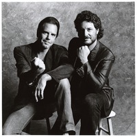 Bob Weir and Rob Wasserman, portrait