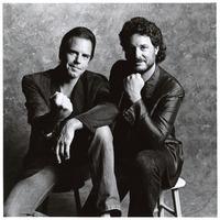 Bob Weir and Rob Wasserman, portrait