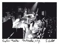 """Grateful Dead: Bill Kreutzmann (obscured), Phil Lesh, Jerry Garcia, Bob Weir, Ron """"Pigpen"""" McKernan"""