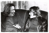 Jerry Garcia and Paul Kantner discuss a benefit concert for the Vietnam Veterans Project