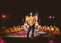 Buddhist monks, Mickey Hart