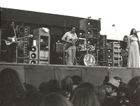 "Grateful Dead: Jerry Garcia, Bob Weir, Phil Lesh, and Donna Godchaux: photograph by ""Deadheads of St. Paul, MN"""