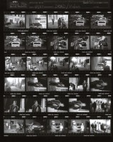 "Grateful Dead: ""Throwing Stones"" video shoot: contact sheet VII of 30 images"