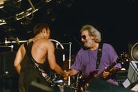Sting and Jerry Garcia