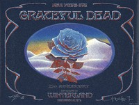 "Grateful Dead - 25th Anniversary - The Closing of Winterland, December 31, 1978 - ""Blue Rose"""