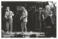 Grateful Dead, ca. 1989: Phil Lesh, Bob Weir, and Jerry Garcia