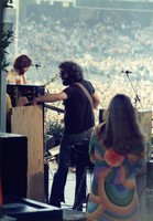 "Grateful Dead at ""A Day on the Green #8"": Bob Weir, Jerry Garcia and Donna Godchaux"