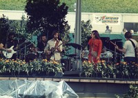 "Grateful Dead at ""A Day on the Green #8"": Jerry Garcia, Bob Weir, Bill Kreutzmann, Donna Godchaux and Phil Lesh"